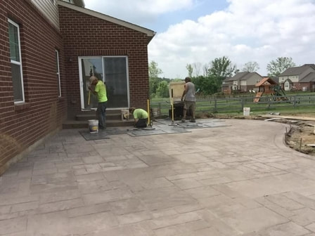 STAMPED CONCRETE PATIO LAKEWOOD CO